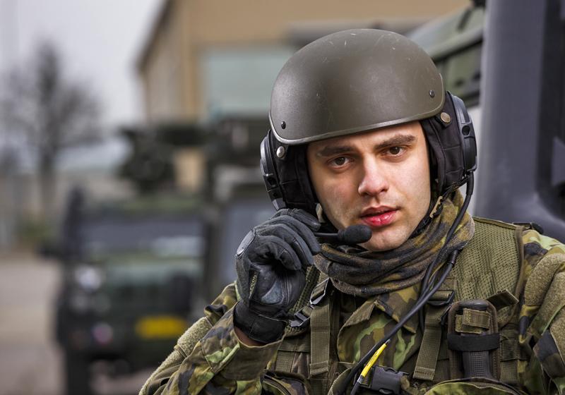 M10, M10A crewman's communication helmets